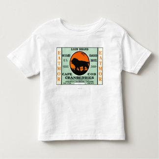 Cape Cod Lion Eatmor Cranberries Brand Label Toddler T-shirt