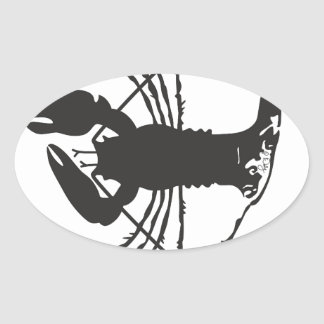 CAPE COD LOBSTER OVAL STICKER