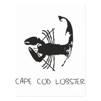 CAPE COD LOBSTER POST CARDS