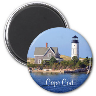 Cape Cod MA Sandy Neck Lighthouse Fridge Magnet