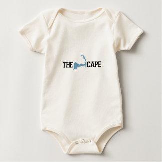 "Cape Cod ""Map"" Design. Baby Bodysuit"