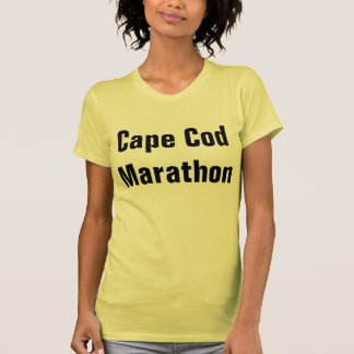Cape Cod Marathon Tshirt