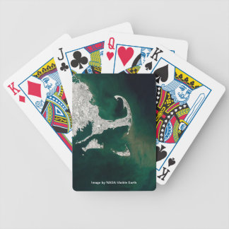 Cape Cod, Martha's Vineyard, Nantucket, South Shor Bicycle Playing Cards