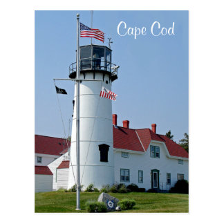 Cape Cod Mass Chatham  Lighthouse Post Card
