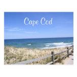 Cape Cod Mass Dunes Beach Ocean Post Card