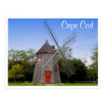 Cape Cod Mass Eastham Windmill Post Card