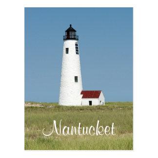 Cape Cod Mass Nantucket  Lighthouse Post Card