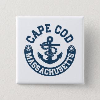 Cape Cod Massachusetts Button