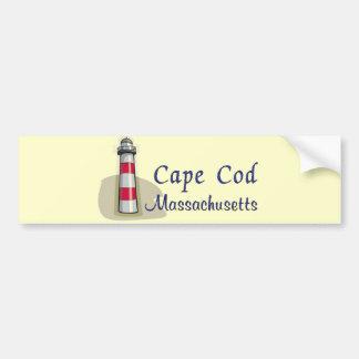 Cape Cod Massachusetts Car Bumper Sticker