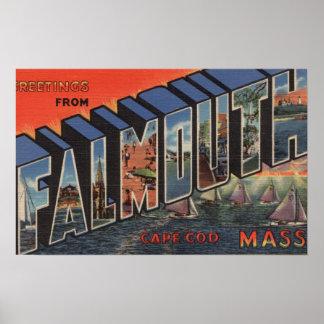 Cape Cod, Massachusetts (Falmouth) Impresiones