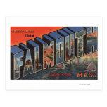 Cape Cod, Massachusetts (Falmouth) Tarjeta Postal