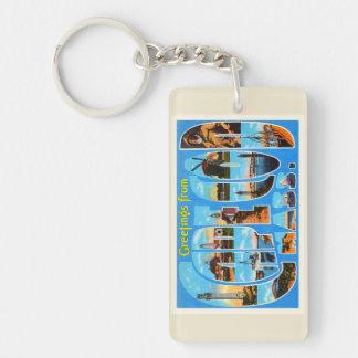 Cape Cod Massachusetts MA Vintage Travel Souvenir Keychain