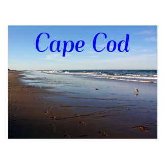 Cape Cod, Massachusetts Nauset Beach Postcard