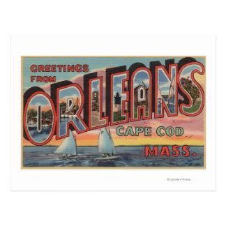 Cape Cod, Massachusetts (Orleans) Postales