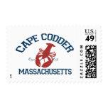 Cape Cod - Massachusetts. Postage Stamp