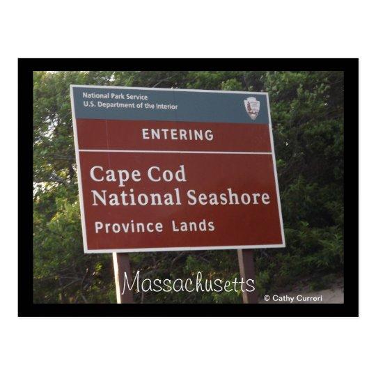 Cape Cod, Massachusetts Postcard