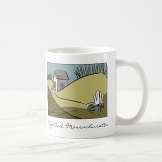 Cape Cod, Massachusetts Sand Dunes Seaside Coffee Mug