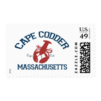 Cape Cod - Massachusetts Sello Postal