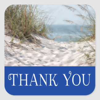 Cape Cod Massachusetts Thank You Beach Stickers