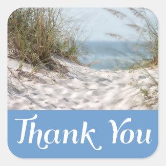 Cape Cod Massachusetts Thank You Beach Stickers