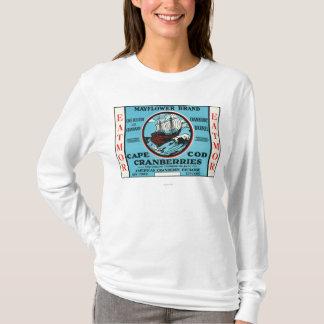 Cape Cod Mayflower Eatmor Cranberries Brand T-Shirt