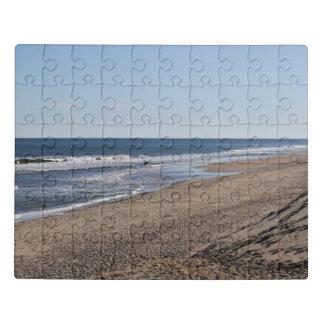 Cape Cod National Seashore - the surfer Jigsaw Puzzle