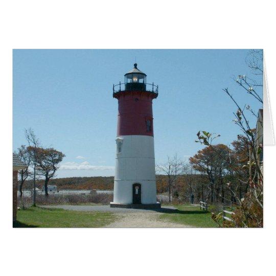 Cape Cod, Nauset Lighthouse Blank Card