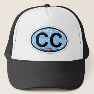 Cape Cod Oval Design. Trucker Hat