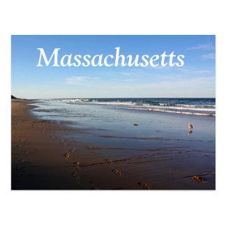 Cape Cod, postal de la playa de Massachusetts Naus