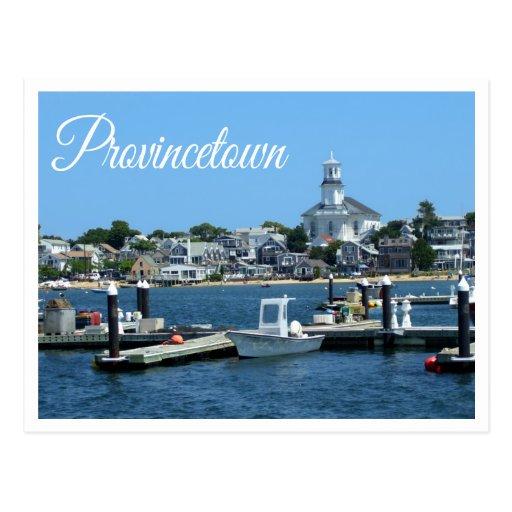 Cape Cod, postal de Provincetown mA