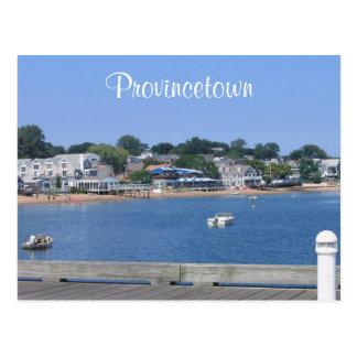 Cape Cod, postal de Provincetown Massachusetts
