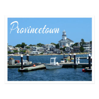 Cape Cod, Provincetown MA Post Card