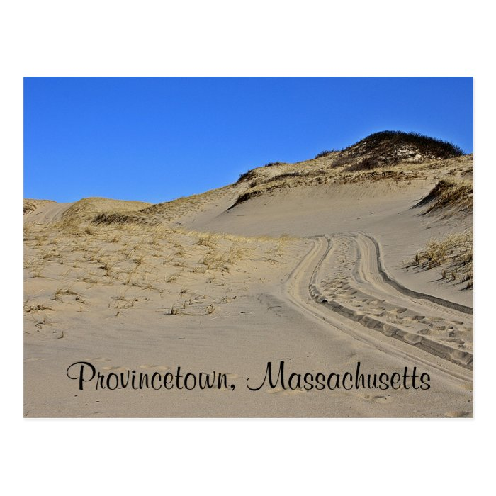 Cape Cod Provincetown, MA  Sand Dunes  Post Card
