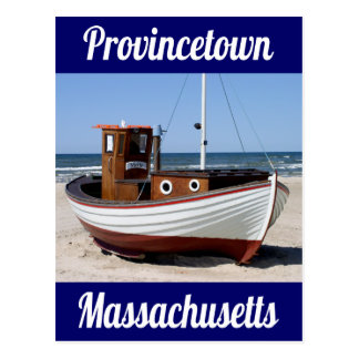 Cape Cod, Provincetown, postal de Massachusetts