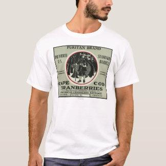 Cape Cod Puritan Brand Cranberry Label T-Shirt