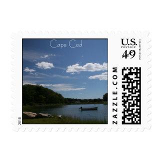 Cape Cod Salt Marsh Postcard Stamp