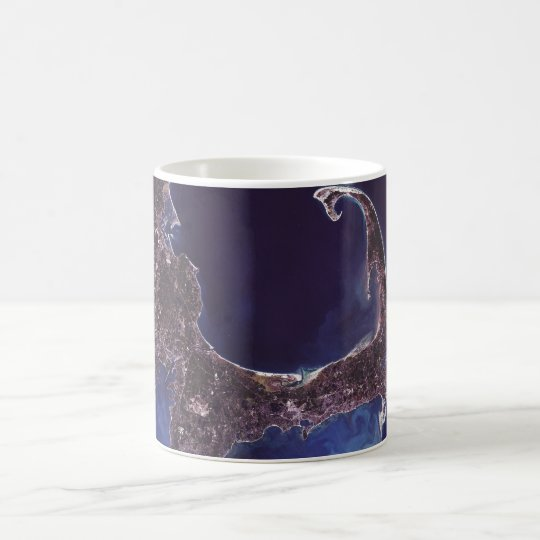 Cape Cod Satellite Photograph Coffee Mug