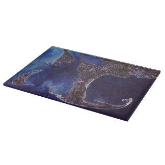 Cape Cod Satellite Photograph Cutting Board