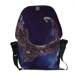 Cape Cod Satellite Photograph Messenger Bag