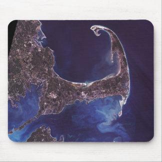 Cape Cod Satellite Photograph Mouse Pad
