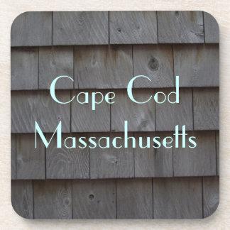 Cape Cod Shingles Customizable Coaster