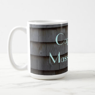 Cape Cod Shingles Customizable Coffee Mug