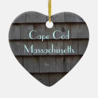 Cape Cod Shingles Reversible Customized Ceramic Ornament