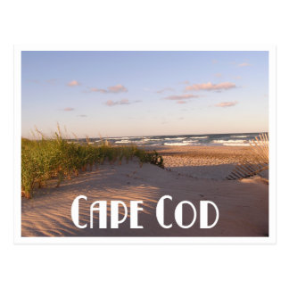 Cape Cod Sunrise Over Beach, Massachusetts, USA Postcard