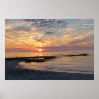 Cape Cod Sunset Poster