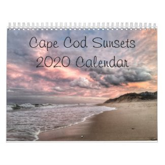 Cape Cod Sunsets 2020 Calendar