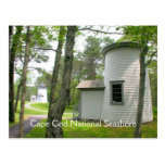 Cape Cod, Three Sisters Lighthouses Postcard