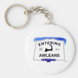 Cape Cod town, Awleans (Orleans to 'outsiders') Keychain
