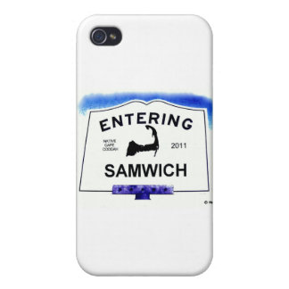 Cape Cod town, Samwich (Sandwich to 'outsiders') Case For iPhone 4