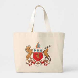 Cape Colony Coat of Arms (1876) Jumbo Tote Bag